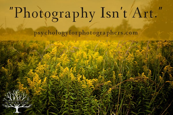 """Photography Isn"