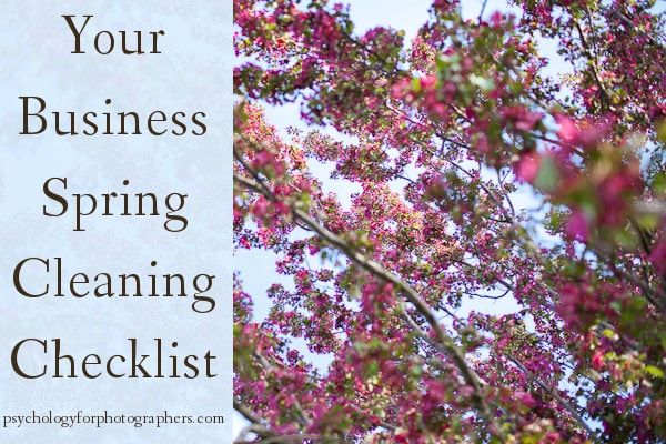 Your Business Spring Cleaning Checklist