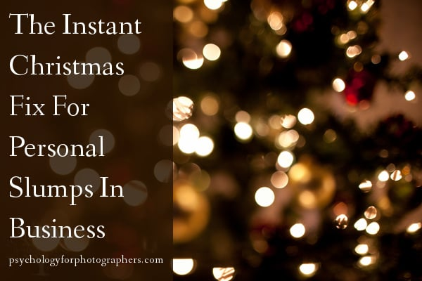 The Instant Christmas Fix For Personal Slumps In Business