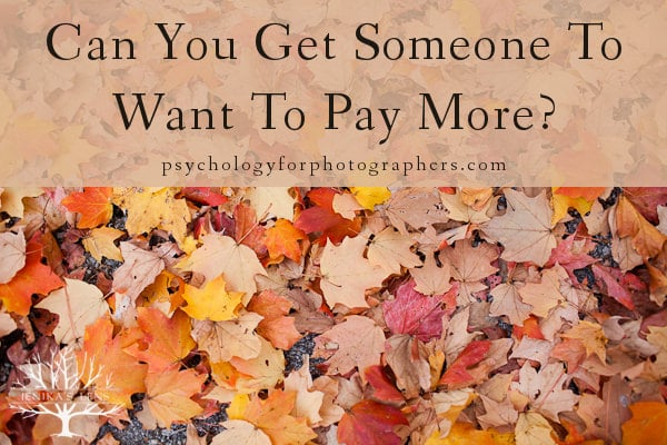 Can You Get Someone To Want To Pay More?