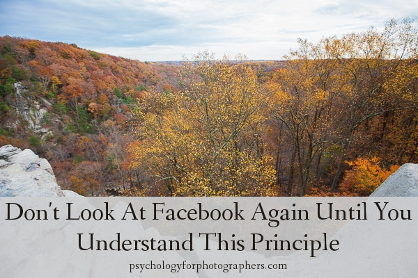 Don't Look At Facebook Again Until You Understand This Principle