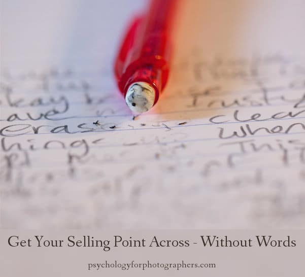 Get Your Selling Point Across - Without Words