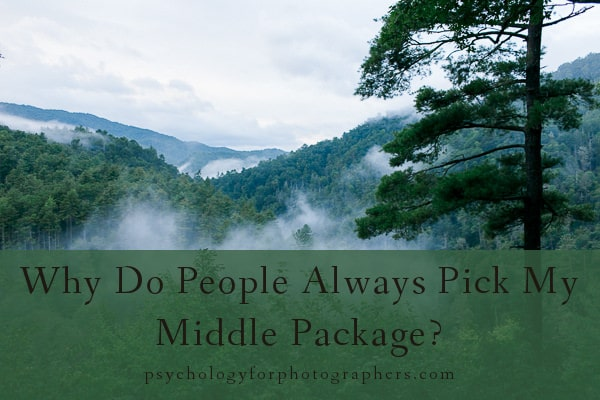 Why Do People Always Pick My Middle Package?